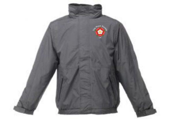 WeatherProof Jacket White Logo