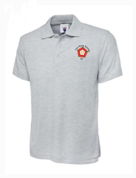 POLO – GREY WITH LOGO